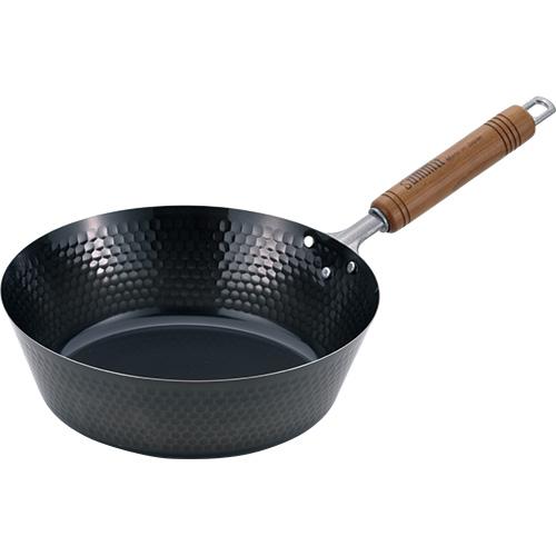 こぼれにくい炒め鍋23㎝、26㎝、29㎝